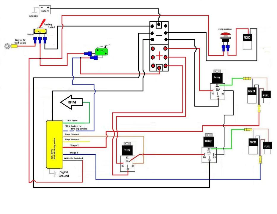 Tn 7264 Nitrous Oxide Systems Wiring Diagram On Edelbrock Nitrous Wiring Schematic Wiring