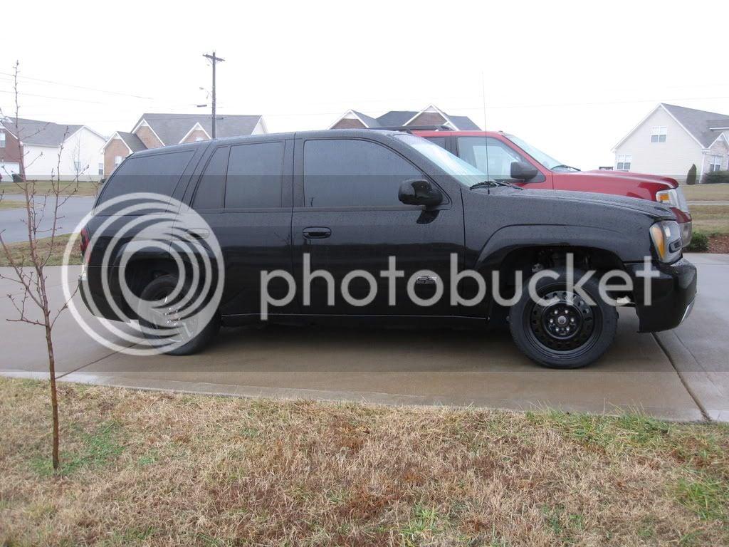 wheel/tire combo setup for slicks   Chevy Trailblazer SS Forum